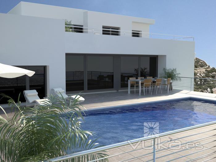 Grupo vapf benissa alicante for Mar villa modelo