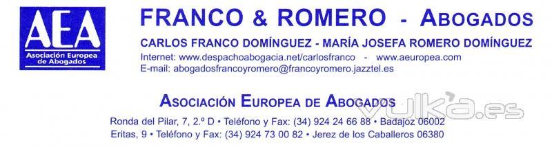 Franco y romero abogados for Oficinas inss barcelona