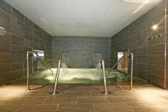 Vasos de hidromasaje, jets de presión, termas de contraste, sauna, baño de vapor y ducha ciclónica