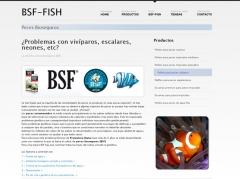 Alimentaci�n para peces ornamentales  www.bsf-fish.com