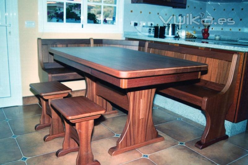 Foto mesas para comedor y cocina for Mesa cocina tenerife