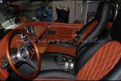 Vista de interior de cobra rl 427 racing legends