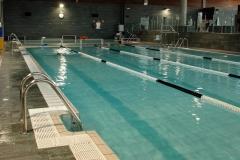 Piscina de 20 metros para nado libre