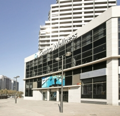 Las instalaciones de o2 centro wellness pedralbes cuentan con 3800 m2
