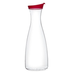 Jarra botella de agua 1,5 litro roja  en lallimona.com