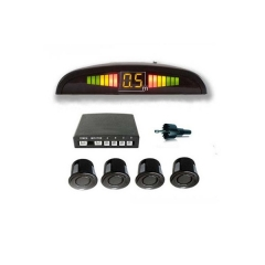 Sensor de aparcamiento inalámbrico, emite una señal sonora para avisar al conductor