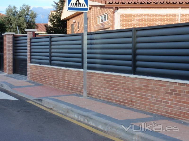 Vallado Jardin Gallery Of Presupuesto Vallas Pvc Tenemos Para - Vallas-de-aluminio-para-jardin