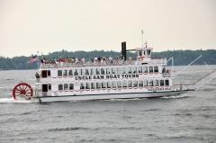 Paseo en barco por las mil islas