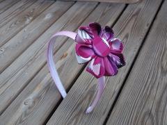 Diadema Flor hecha a mano totalmente!