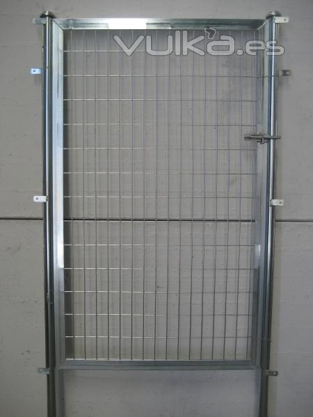 Vallas metalicas jardin panel de valla de wpc para jardn - Puertas metalicas jardin ...