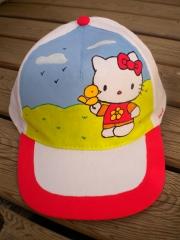 Gorra infantil. pintada a mano con pintura textil de alta calidad