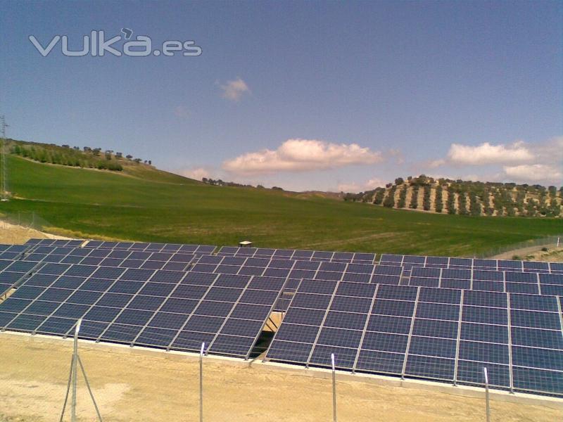 Planta Solar de 1,5 MW proyectada y dirigida por Marín Ingenieros