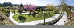 Jardín terapéutico - 5000 m2 - más de 150 espec. vegetales ( complexo xerontolóxico o castro )