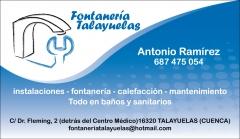 Fontaneria  Talayuelas