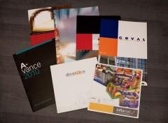 Selección de diseño de folletos de 31416k