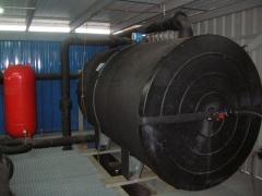 Instalacion frigorifica con agua glicolada