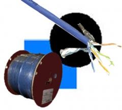 Cable 4P UTP CAT6, y también tenemos FTP.