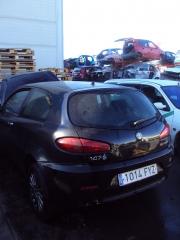 Zona de recepción de coches para el desguace