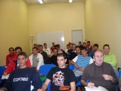 Alumnos en clase presencial