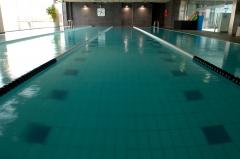 Piscina de 22 metros para nado libre