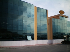 Edificio construido por plumbing tecnology sl  para ubicación de oficinas. situado en mazarron, murc