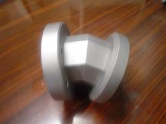 Codo de aluminio
