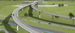 Proyecto de puentes sobre carretera nacional