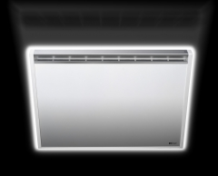 Foto frontal radiador plano de radialight en www.lineaba�o.com