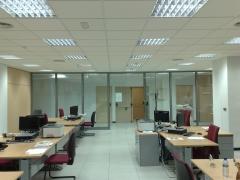 Oficinas techos, suelo, tabiqueria y mamparas