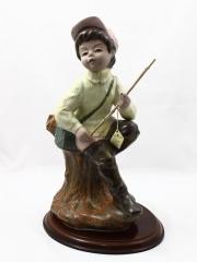 Figuras de porcelana de calidad figura porcelana ni�o pescador oasisdecor.com