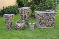 distintas medidas jardineras, gama de jardineras de hormigones vicente