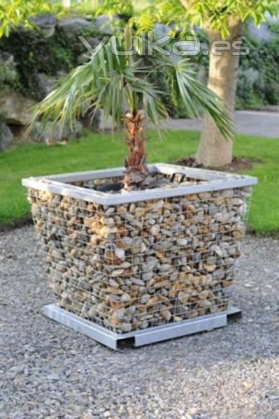 Hormigones vicente for Jardineras de piedra natural