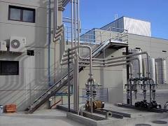 Escaleras met�licas industriales