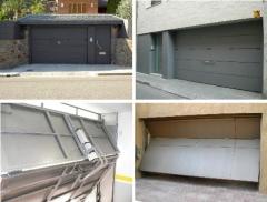 Basculantes de garaje, distintos modelos