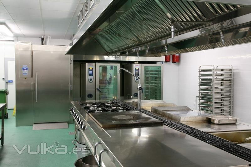 Foto cocinas industriales for Planchas de cocina industriales de segunda mano