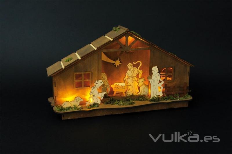Gioco juguetes - Casitas de nacimientos de navidad ...