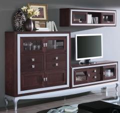 Mueble de salón en pino macizo en crudo o barnizado 1.187 eur