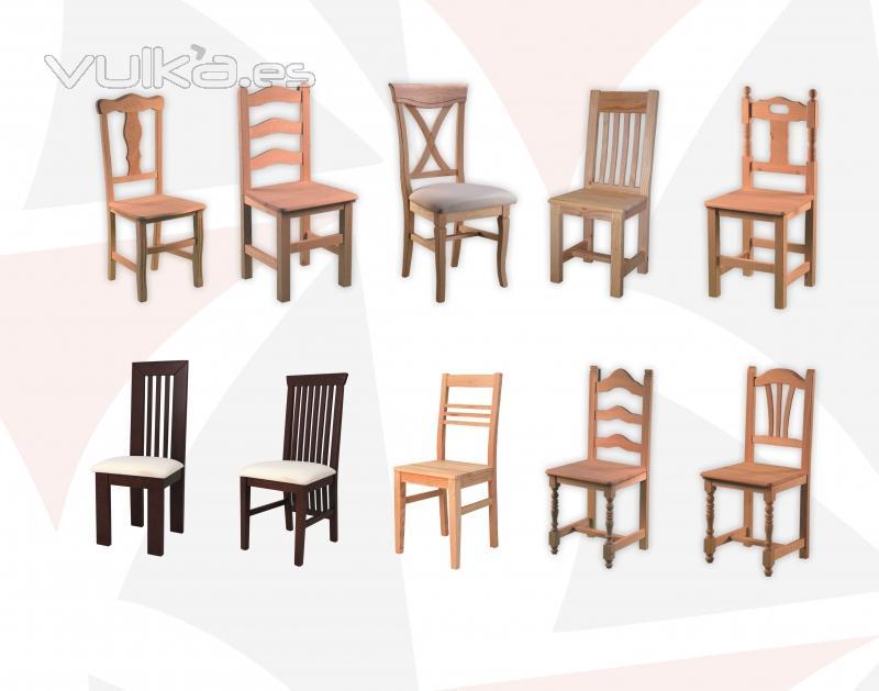 Foto tenemos mas de 200 modelos de sillas en crudo o for Modelos de sillas tapizadas modernas