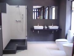 Substitucion de ba�era por ducha de obra
