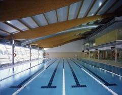 Piscina de 25 metros para nado libre