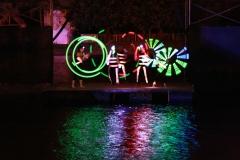 Show de luces electronicas