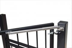Cierrapuertas direkt para puertas sin marco superior, hasta 100 kg de peso, velocidad regulable