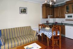 Cocina-comedor apartamento 2 personas