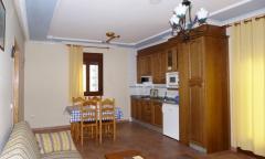 Cocina-comedor apartamento 4 personas