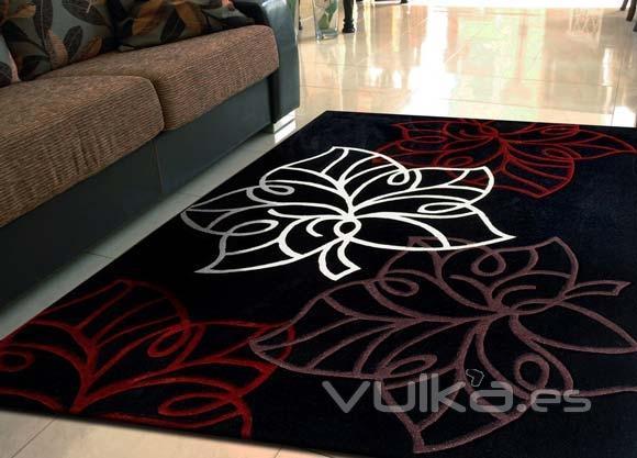 Foto alfombras para vestir tu sal n habitaci n - Alfombras para pasillos modernas ...