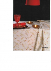 Table cloth / manteler�a navidad 2