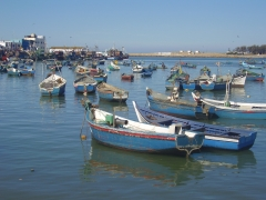 Puerto pesquero en Larache