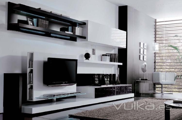 Foto modular moderno inside 714 de kazzano for Mobiliario de salon moderno