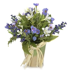 Planta artificial bouvardia lila en la llimona home