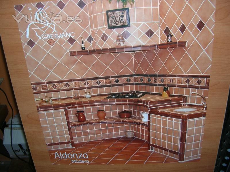 Foto azulejos en cocinas r sticas for Ver azulejos de cocina